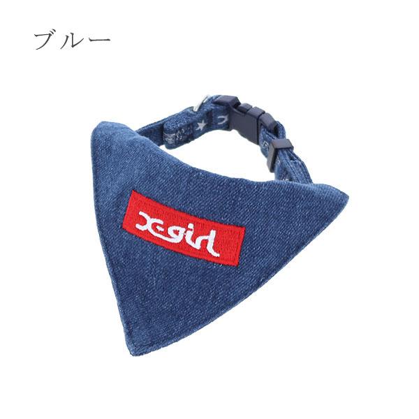 X-girl カラー スカーフ付